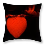 One Scary Berry Throw Pillow