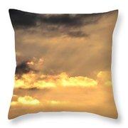 One September Dawn Throw Pillow