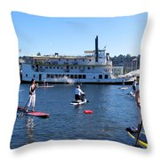 One Summer Day No. 1 Throw Pillow