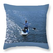 One Summer Day No. 2 Throw Pillow