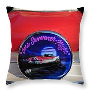 One Summer Night Throw Pillow