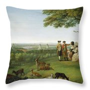 One Tree Hill - Greenwich Throw Pillow