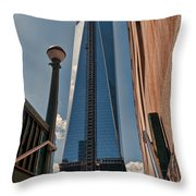 One Wtc First Look Throw Pillow
