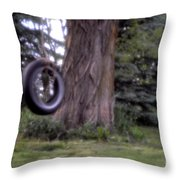 Only A Memory Pin-hole Photo Throw Pillow