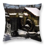 Only In Silence Throw Pillow