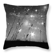 Only The Stars And Me Throw Pillow