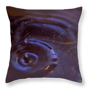 Oozing Purple Throw Pillow