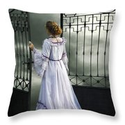 Open Gate Throw Pillow by Joana Kruse