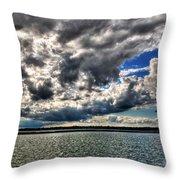 Open Skies Throw Pillow