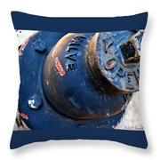 Open Valve Throw Pillow