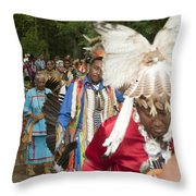 Opening Procession Throw Pillow