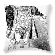 Operatic Singer Throw Pillow