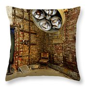 Operating Room - Eastern State Penitentiary Throw Pillow