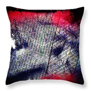 Opinion Of Stain Throw Pillow