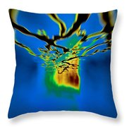 Optic Nerve Throw Pillow