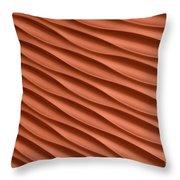 Orange Artistic Background Throw Pillow