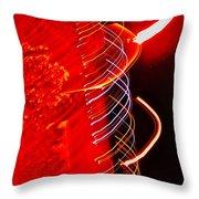 Orbitosphenoid  Throw Pillow by Cliff Spohn
