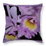 Orchid 234 Throw Pillow
