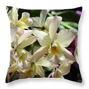 Orchid Iwanagara 9854 Throw Pillow
