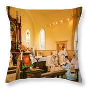 Ordination 3 Throw Pillow