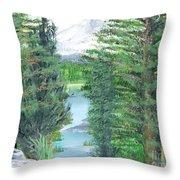 Oregon Reverie Throw Pillow