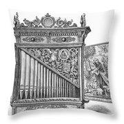 Organ Positive Throw Pillow