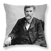 Orion Clemens (1825-1897) Throw Pillow