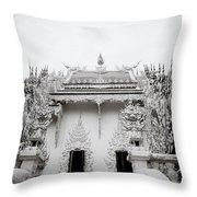 Ornate Architecture Throw Pillow