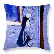 Ornate Door Handle Throw Pillow