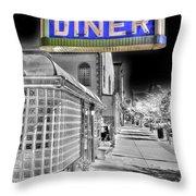 O'rourke's Menu Throw Pillow