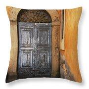 Orvieto Doorway Throw Pillow