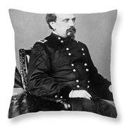 Orville E. Babcock Throw Pillow