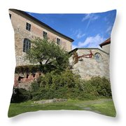 Oslo Castle - Akershus Throw Pillow