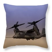 Osprey In Flight I Throw Pillow