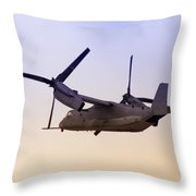 Osprey In Flight Iv Throw Pillow
