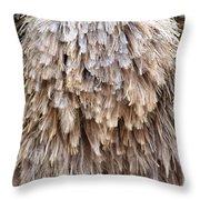 Ostrich Fluff Throw Pillow