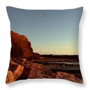 Other World This World Throw Pillow