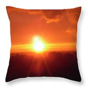 Ottawa Sunset Throw Pillow