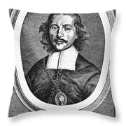 Otto Von Guericke (1602-1686) Throw Pillow