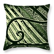 Our Bench Throw Pillow