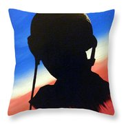 The Marine Throw Pillow