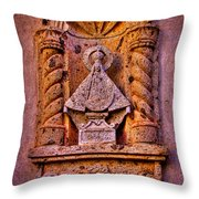 Our Lady Of Good Success At The Chapel In Tlaquepaque Throw Pillow
