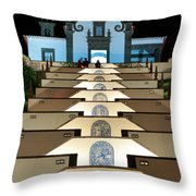Our Lady Of Peace Chapel  Throw Pillow
