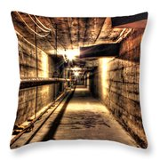 Our Lady Queen Of Angels Tunnels Detroit Mi Throw Pillow