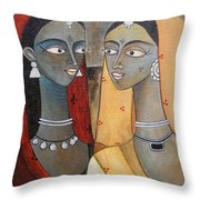 Our Secrets Throw Pillow