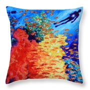 Our True Hidden Treasure Throw Pillow by John Lautermilch