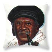 Ousmane Sembene Throw Pillow