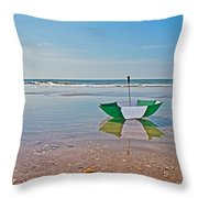 Out For A Stroll Throw Pillow by Betsy Knapp