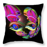 Out Of The Blue Throw Pillow by Charles Stuart