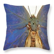 Out Of The Blue.. Throw Pillow